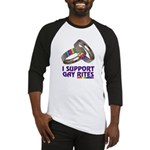 I SUPPORT GAY RITES Baseball Jersey