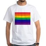 RAINBOW White T-Shirt