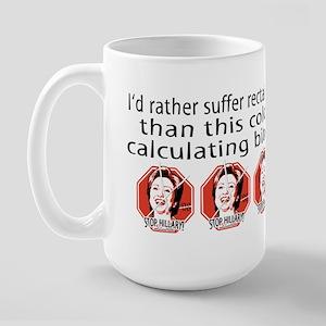 Hillary Rectal Itch Large Mug