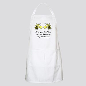 Bees or Boobees BBQ Apron