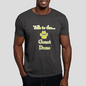 Dane Talk yellow Dark T-Shirt