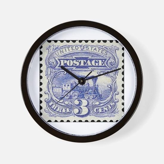 Unique Postage Wall Clock