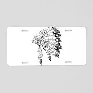 Ceremonial Aluminum License Plate