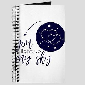 You Light Up My Sky Journal