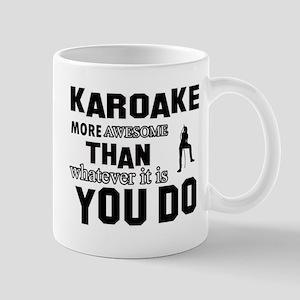 karoake music design Mugs
