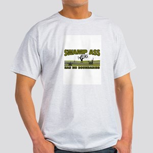 SWAMP ASS (HAS NO BOUNDARIES) Light T-Shirt