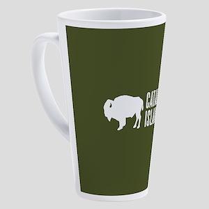 Bison: Catalina Island 17 oz Latte Mug