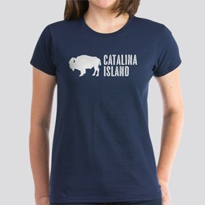 Bison: Catalina Island Women's Classic T-Shirt