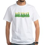 ILY Christmas Forest White T-Shirt