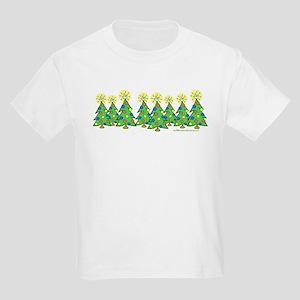 ILY Christmas Forest Kids Light T-Shirt