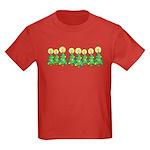 ILY Christmas Forest Kids Dark T-Shirt
