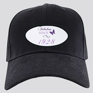 1928 Fabulous Birthday Black Cap with Patch