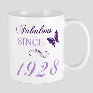 1928 Fabulous Birthday Mugs