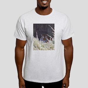 Mr. Tiger Ash Grey T-Shirt