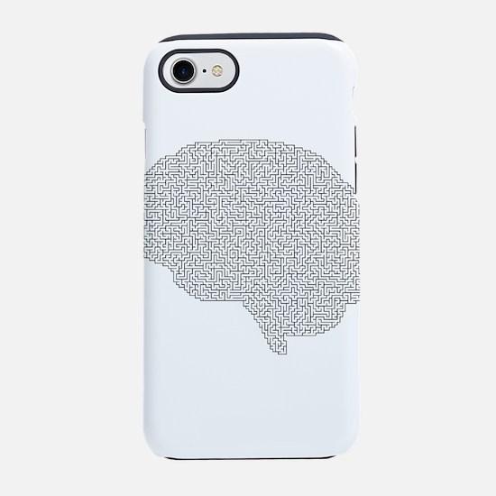 brain maze iPhone 8/7 Tough Case