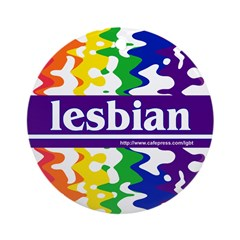 lesbian Keepsake (Round)