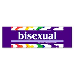 bisexual Bumper Bumper Sticker