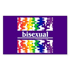 bisexual Rectangle Decal