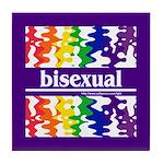 bisexual Tile Coaster