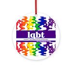 lgbt - lesbian, gay, bisexual Keepsake (Round)