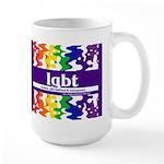 lgbt - lesbian, gay, bisexual Large Mug