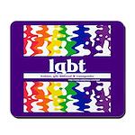lgbt - lesbian, gay, bisexual Mousepad