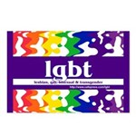 lgbt - lesbian, gay, bisexual Postcards (Package o