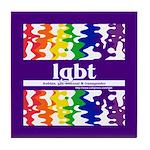 lgbt - lesbian, gay, bisexual Tile Coaster