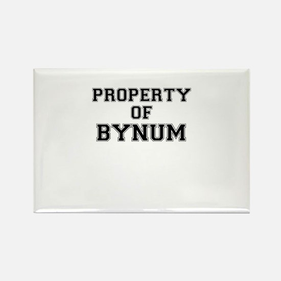Property of BYNUM Magnets