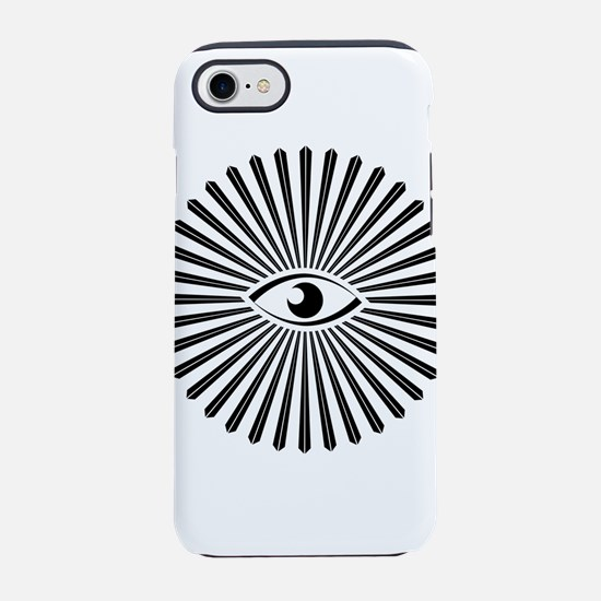 all seeing eye iPhone 8/7 Tough Case