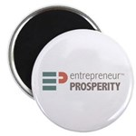 Entrepreneur Prosperity Logo Magnets