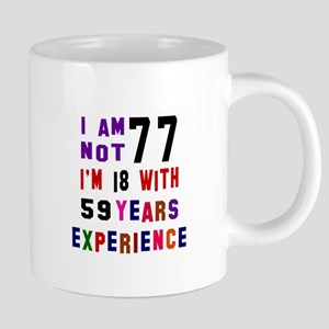 77 Birthday Designs Mugs