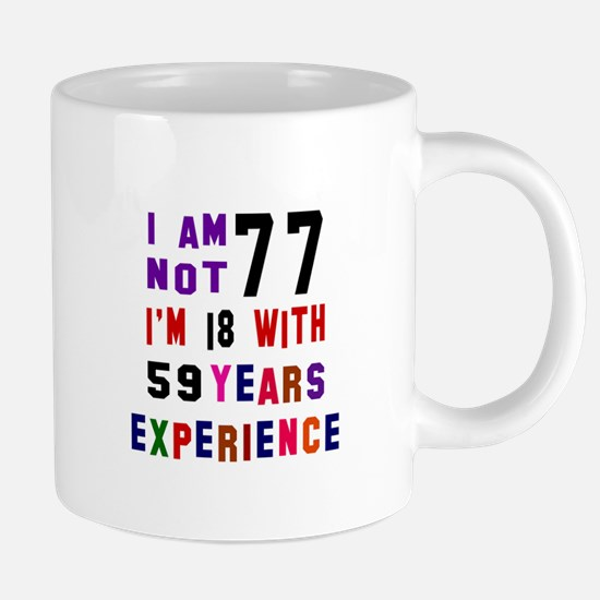 77 Birthday Designs Mugs