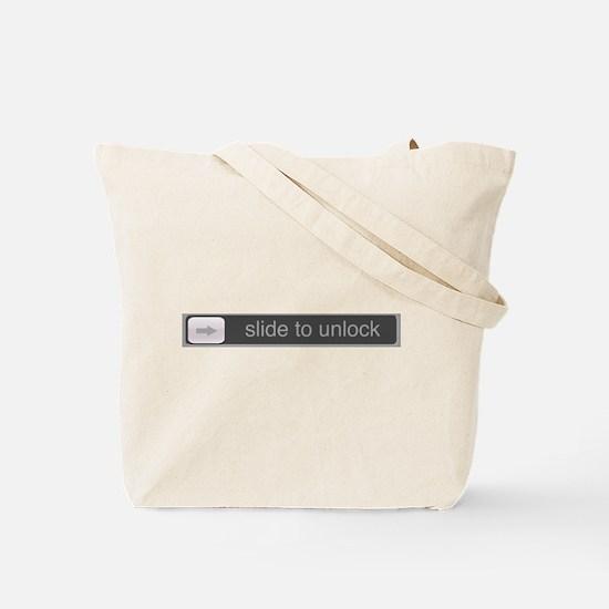 Slide to Unlock Tote Bag
