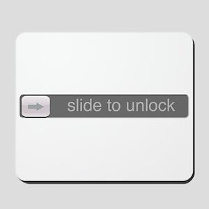 Slide to Unlock Mousepad