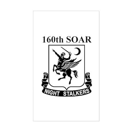 160th SOAR (2) Rectangle Sticker