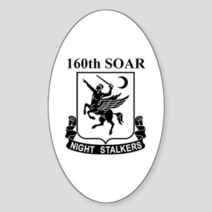 160th SOAR (2) Oval Sticker