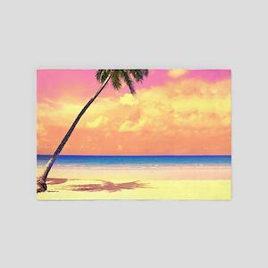 Tropical Beach 4' X 6' Rug