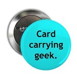 "Geek 2.25"" Button"
