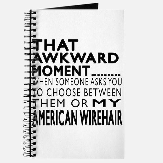 Awkward American Wirehair Cat Designs Journal