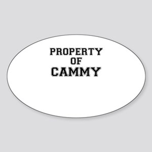 Property of CAMMY Sticker