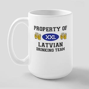 Latvian Large Mug