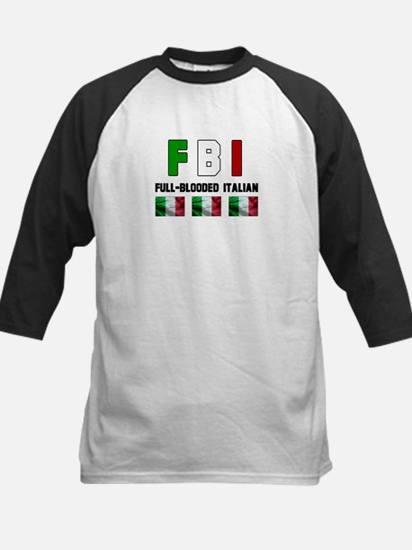 Full-Blooded Italian Kids Baseball Jersey