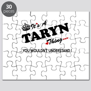 TARYN thing, you wouldn't understand Puzzle
