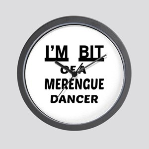 I'm bit of a Merengue dancer Wall Clock