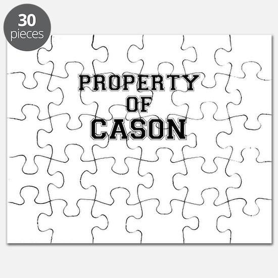 Property of CASON Puzzle