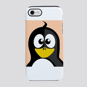 Cross-Eyed Penguin iPhone 8/7 Tough Case