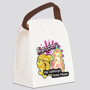 90210 Blondes California State Fl Canvas Lunch Bag