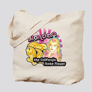90210 Blondes California State Flower Tote Bag