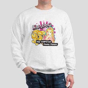 90210 Blondes California State Flower Sweatshirt